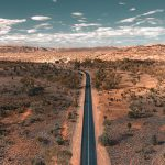 Driving on the roads surrounding Alice Springs.A thriving, spirited outback centre, Alice Springs is as famous for the personality of its locals and contemporary and traditional art as the natural wonders, including the stunning Larapinta Trail and the MacDonnell Ranges, which surround it